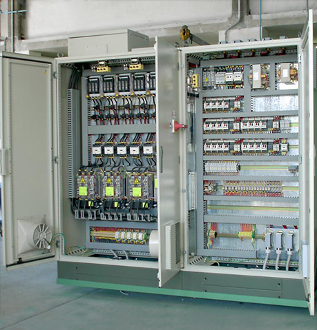 CONTROL AND OPERATION EQUIPMENT - PLC